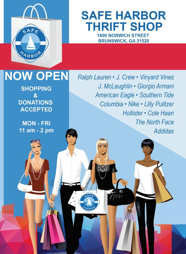 Safe Harbor Thrift Shop Poster