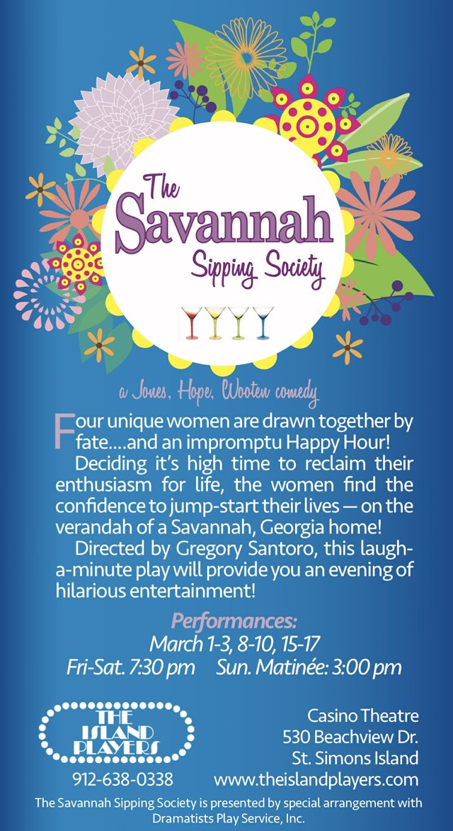 The Savannah Sipping Society poster