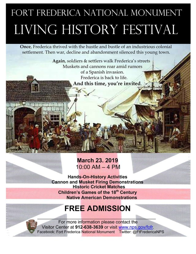 Fort Frederica Living History