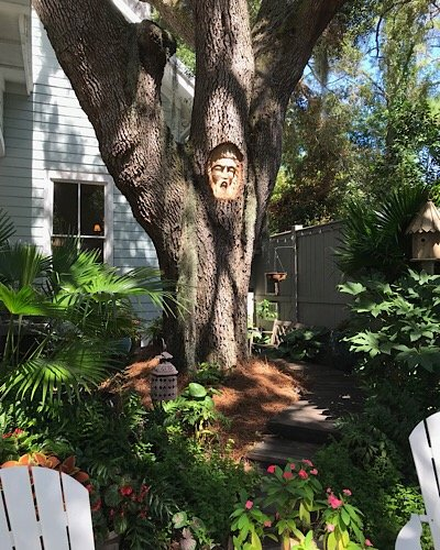 Cassina Garden Walk tree spirit