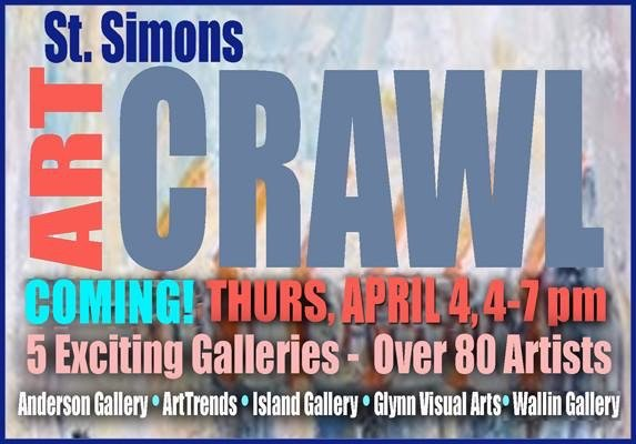 Spring Art Crawl