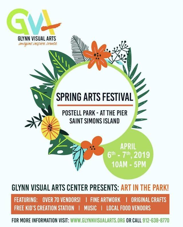 Spring Art Festival poster