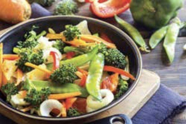 Veggie ginger stir-fry