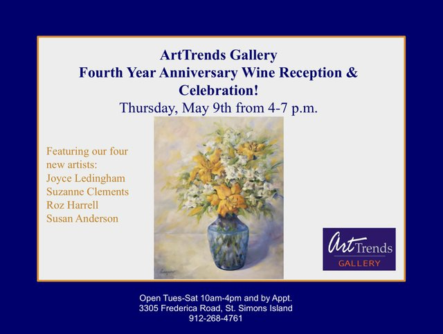 Art Trends 4 Year Anniversary