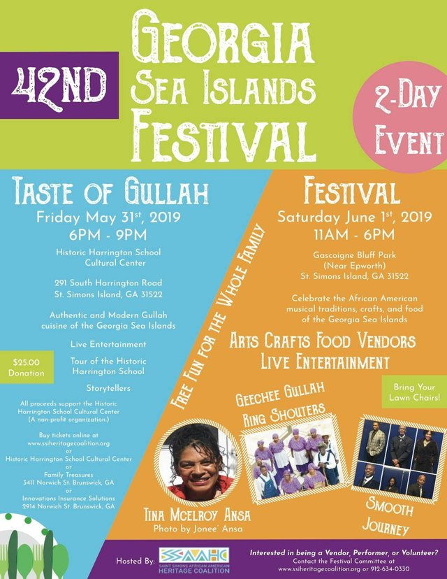 42nd annual Sea Islands Festival