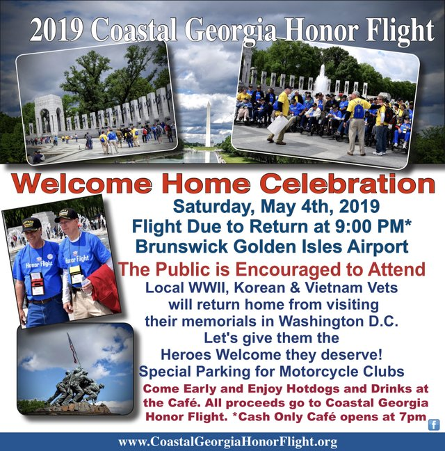 2019 Honor Flight welcome home