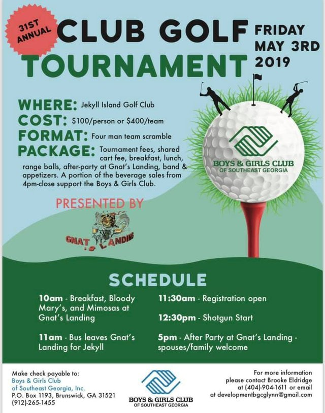 Club Golf Tournament 2019