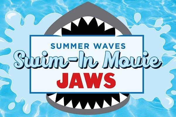 Swim In Movie - Jaws