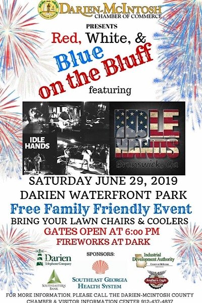 Red White Blues on Bluff 2019