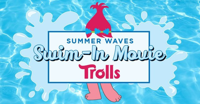 Swim in movie Trolls