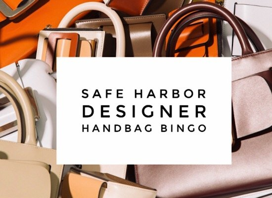 Safe Harbor Designer Handbag Bingo