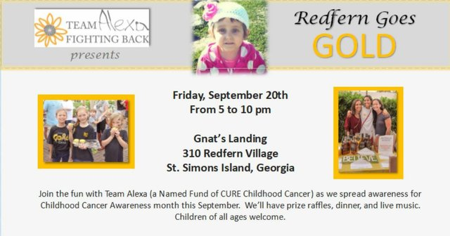 5th Annual Redfern Goes Gold