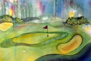 A Chip and A Putt by Bonnie Rabert
