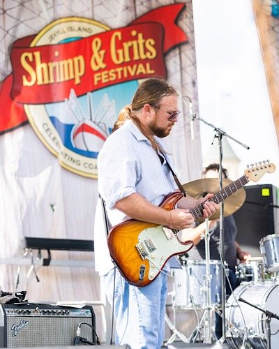 Music at Shrimp and Grits Festival
