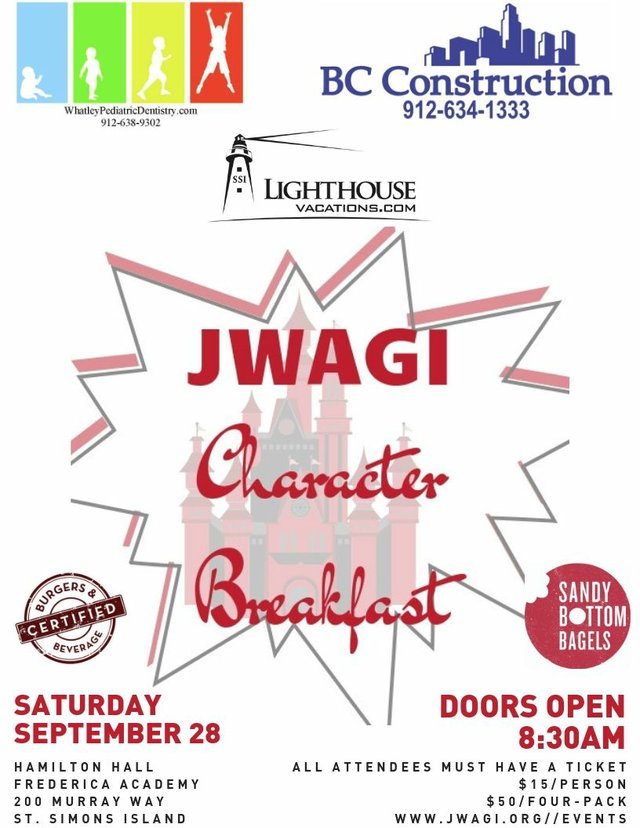 JWAGI Character Breakfast Fall2019