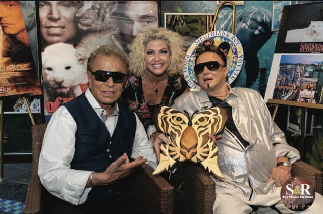 Christina Godwin Siegfried and Roy Show Reunion