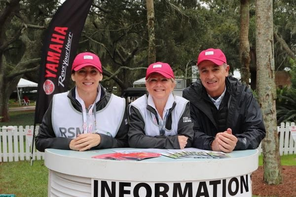 RSM Classic Volunteers are a huge part of the tournament's success.