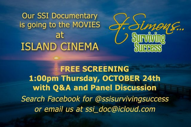 St Simons Surviving Success Free Screening