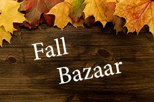 Fall bazaar wood