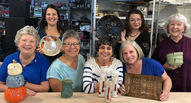 GVA Studio Members Pottery Sale