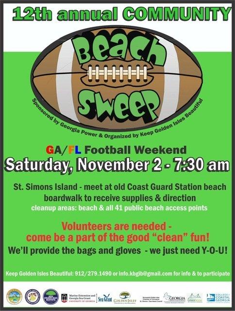 Community Beach Sweep 2019
