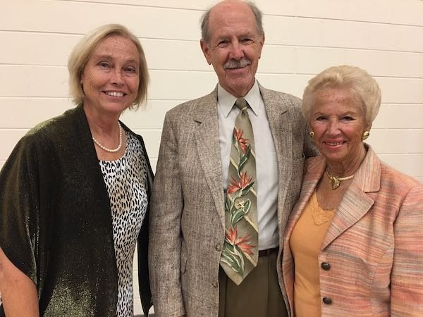 Deborah Wright, Jim and Kay Harrell