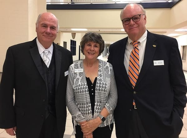 Board Members Michael Frick, Linda Wright, John Starr