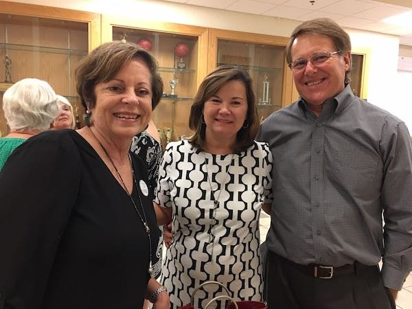 JoAnn Frick, Gail and Greg McCarty