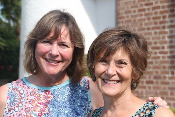 Elaine Townsend and Susan Barnett
