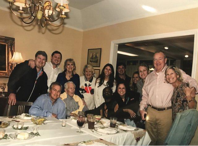 Butler family Thanksgiving