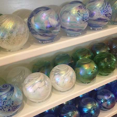 Glass floats Jekyll Island treasures