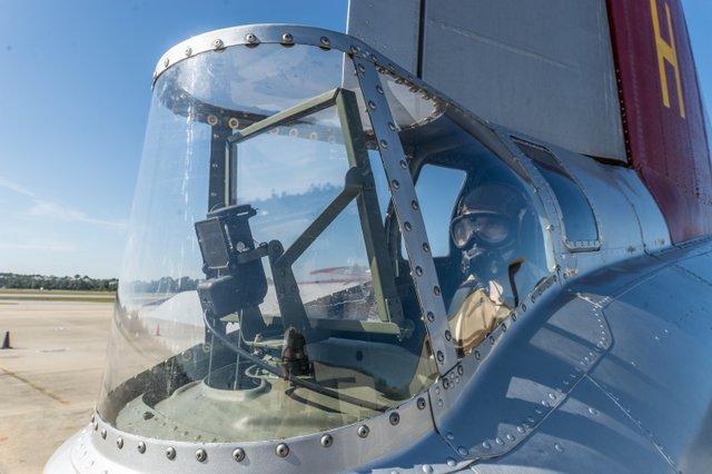 Aluminum Overcast Tail gunner