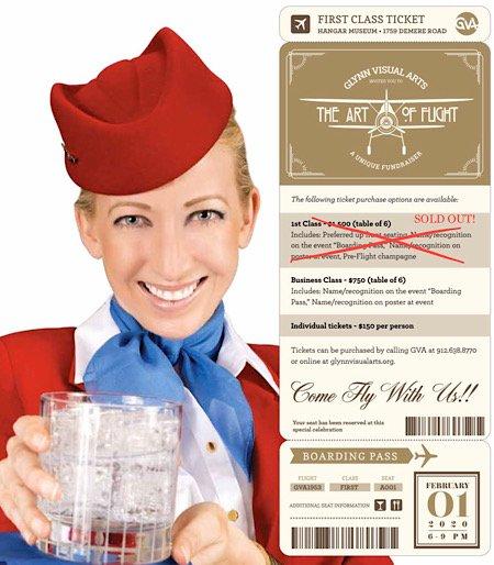 Art of Flight ticket info