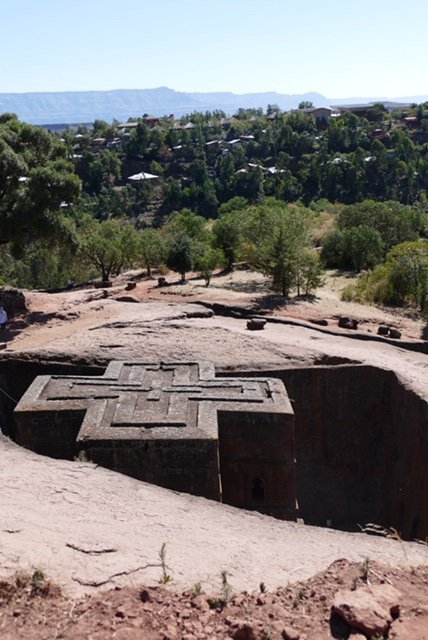 Chapel of St George in Lalibela