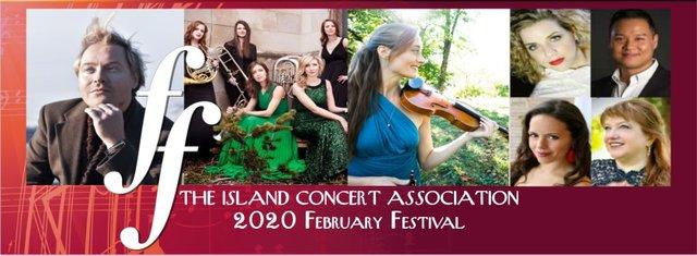 Island concert Association 2020 festival