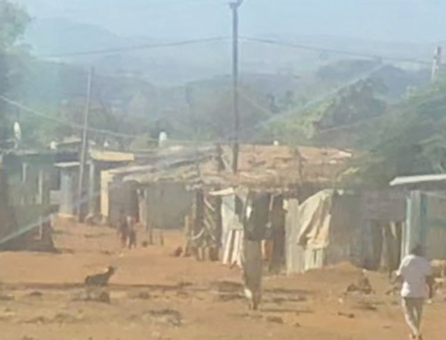 Eritrean refugee camp