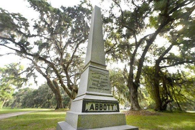 Robert Abbott memorial Fort Frederica