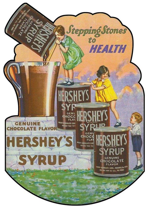 Hershey Chocolate Stepping Stones to Health