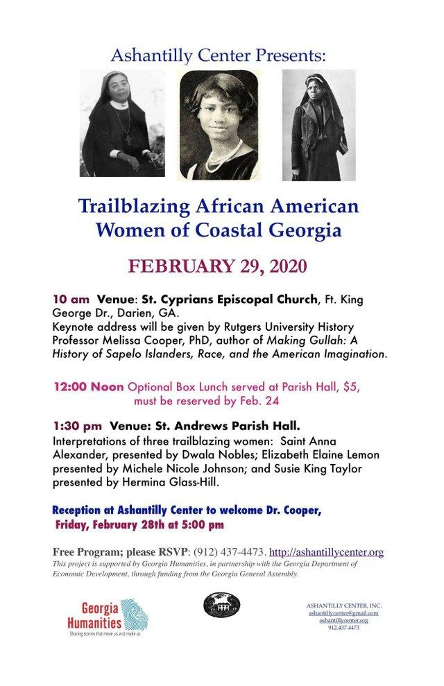 Trailblazing African-American Women of Coastal Georgia