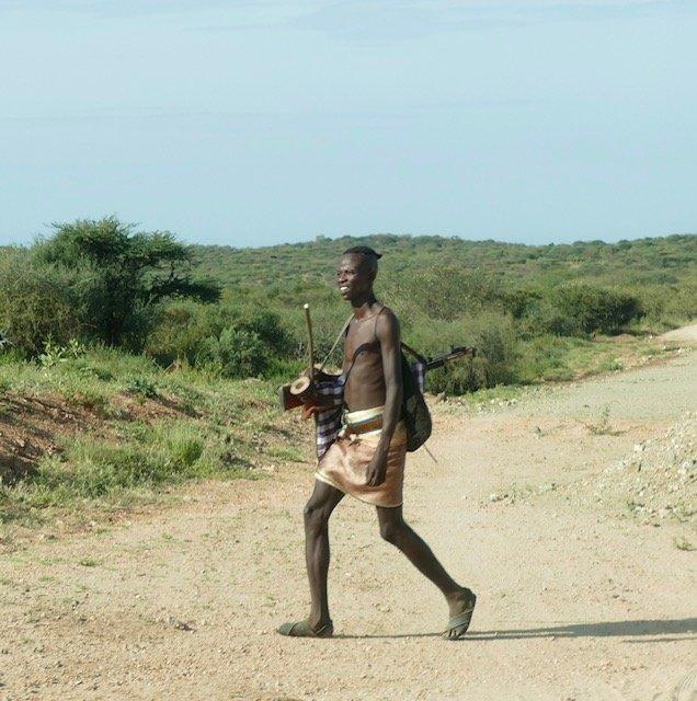 Just a gun-toting tribesman