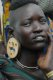 Mursi woman with earring