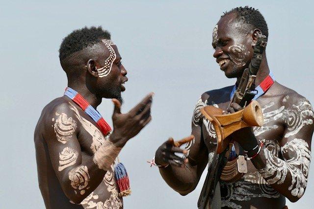 Karo tribesmen