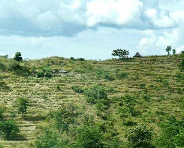 Terraces built over centuries by Konso tribe