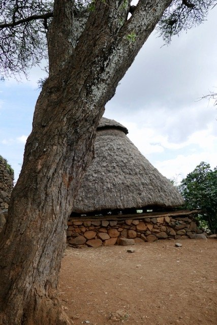 Konso community house