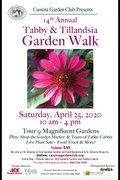Cassina Garden Walk 2020 poster