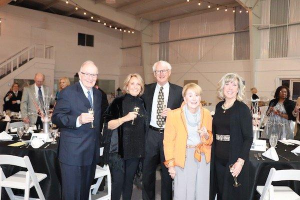Don McCue, Carol Koracin, Ron and Forrest Wilson, Joyce Nuse