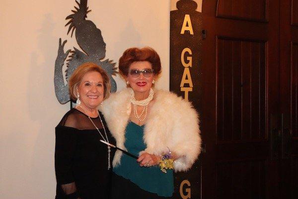 Sharon Flores, Mildred Wilcox