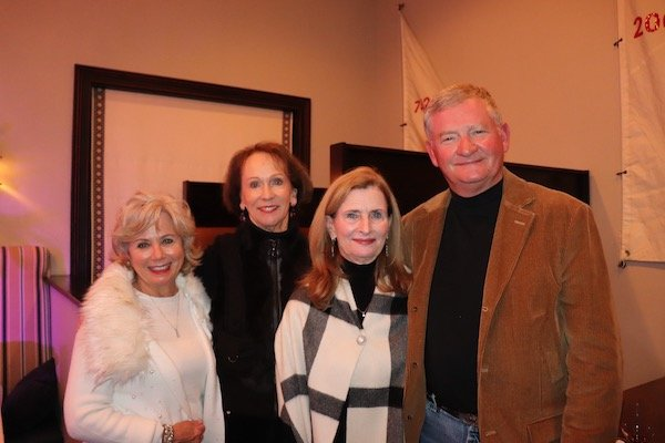Annaliese Maddox, Gayle Brown, Margaret and Brad Butler
