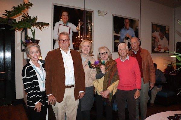 Vicki and Jim Bell, Reg Bridges, Janine and Jon Welles, Terry Bridges