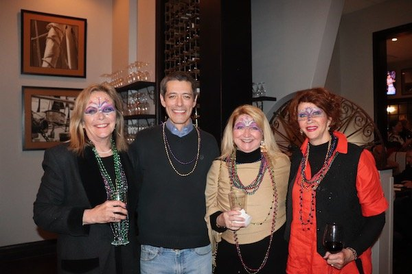 Ann Heins, Thomas Roberts, Trish Adams, Carol Adams